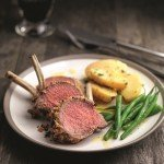 Recipe: Herb, Olive and Mustard-crusted Rack of Lamb