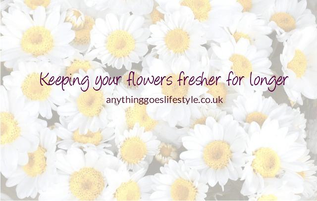 Keep your flowers fresher for longer