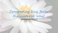 hayfever natures way- reducing histamine