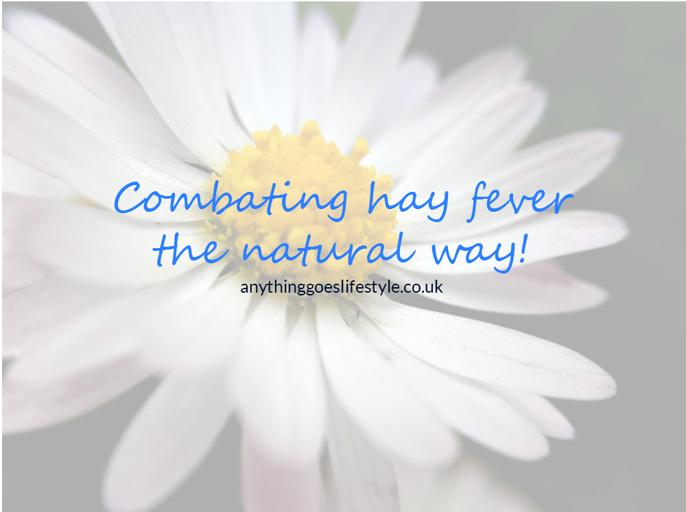 Managing hay fever the natural way