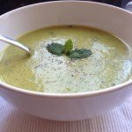 Recipe: Pea and Mint Soup