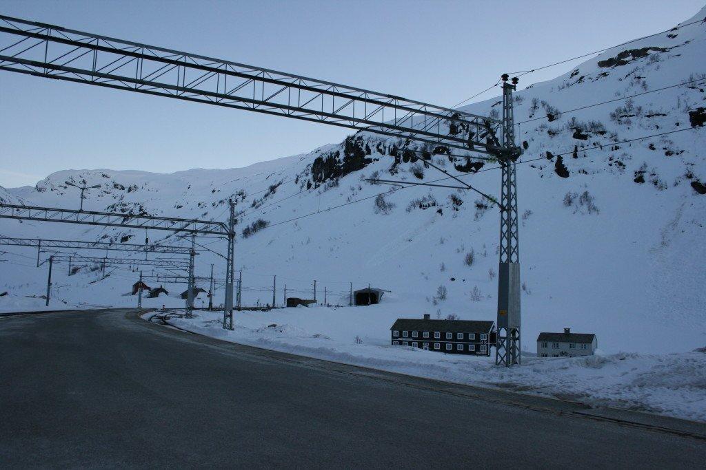 Myrdal Station, so quiet