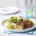 Recipe: Prawn & cod cakes with cucumber salad