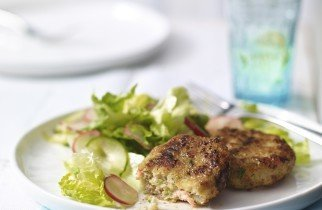 Waitrose prawn and cod cakes