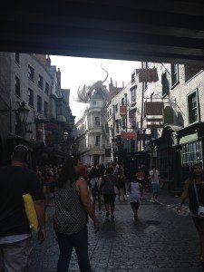 Diagon Alley, Universal