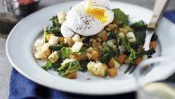 Parsnip, Carrot & Kale Hash with Poached Eggs