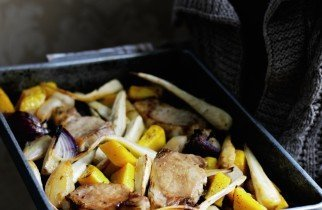 Recipe Roast Pork Pear and Parsnip