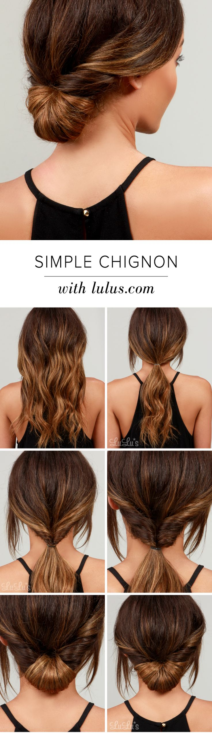 What to do with day-old hair