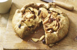 Rustic Pear & Bramley Apple Tart