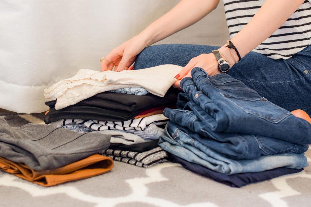 organising clothes