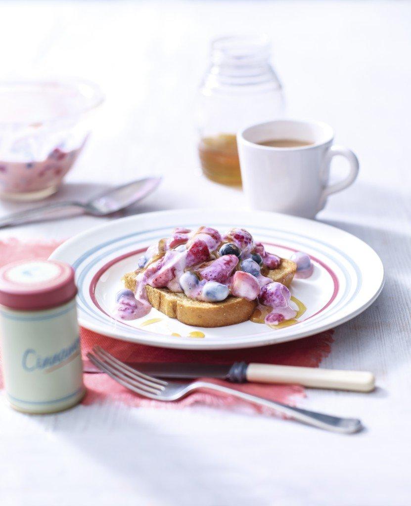 Breakfast Berry Brioche