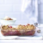 Recipe: Rhubarb and Strawberry Crumble