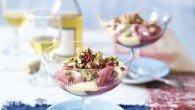 Roasted Rhubarb & Custard Crunch