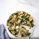 Recipe: Spinach & ricotta Spanish omelette