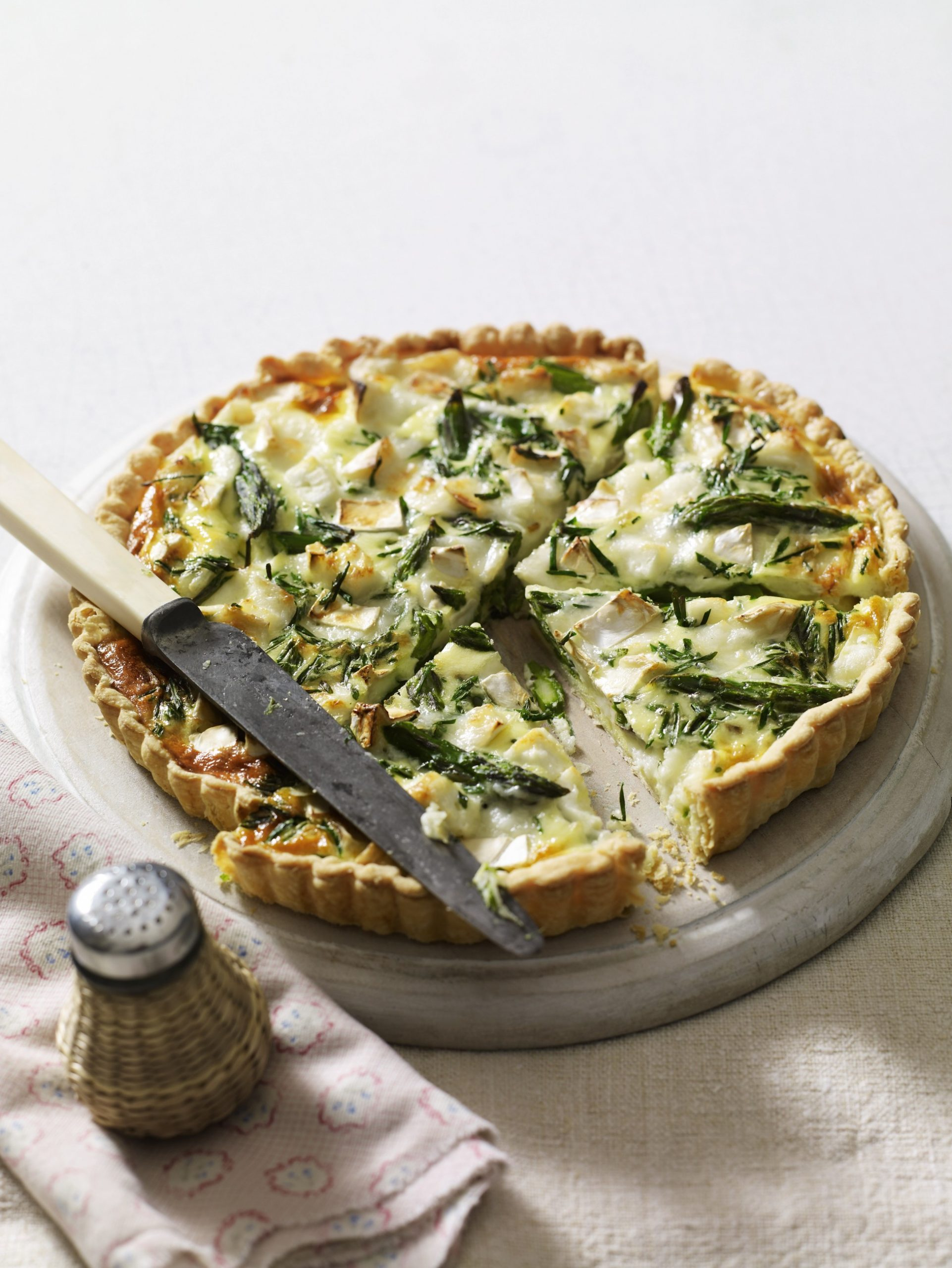 Recipe: Asparagus & Goat's Cheese Tart