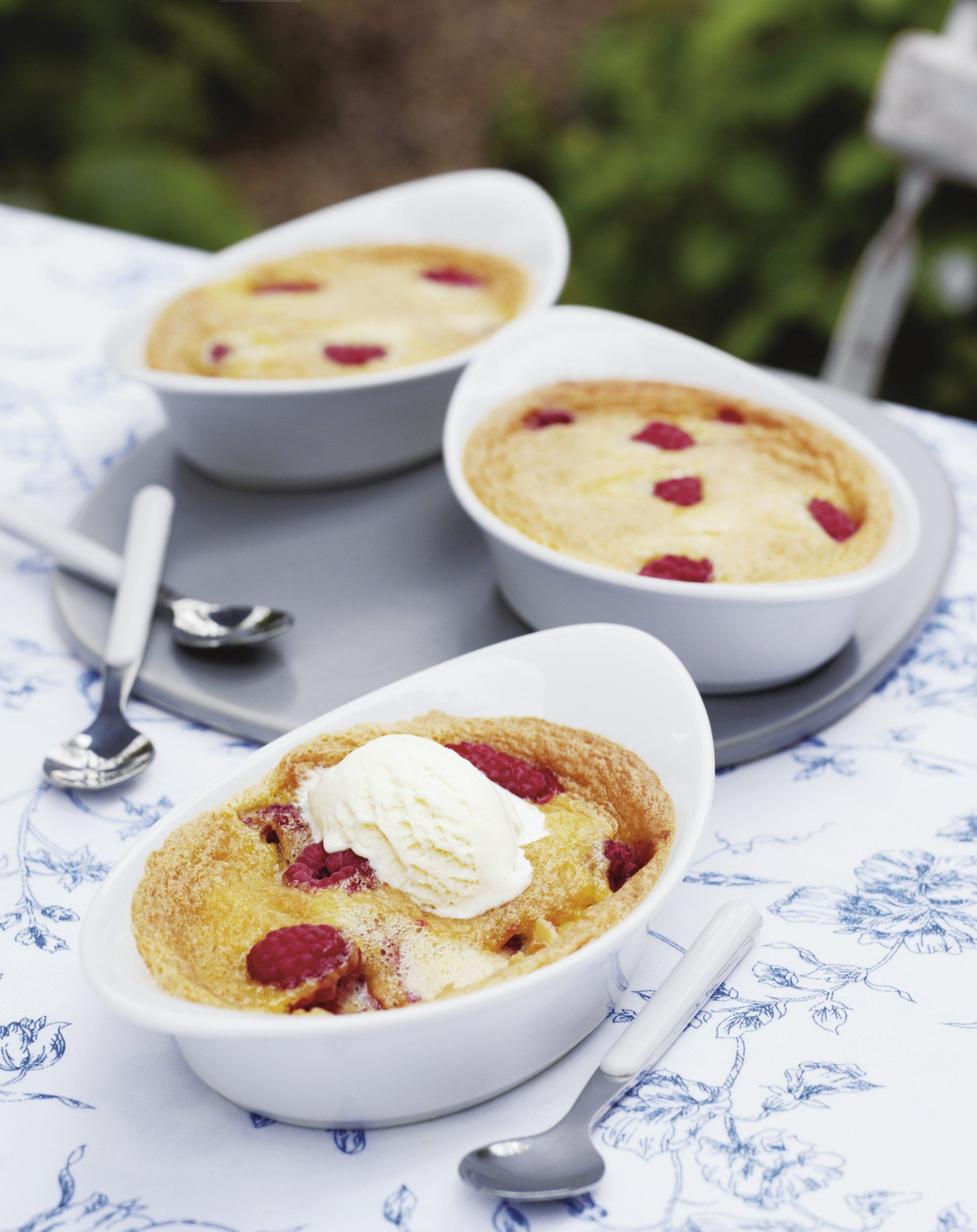 Recipe: Raspberry Clafoutis With Ground Almonds