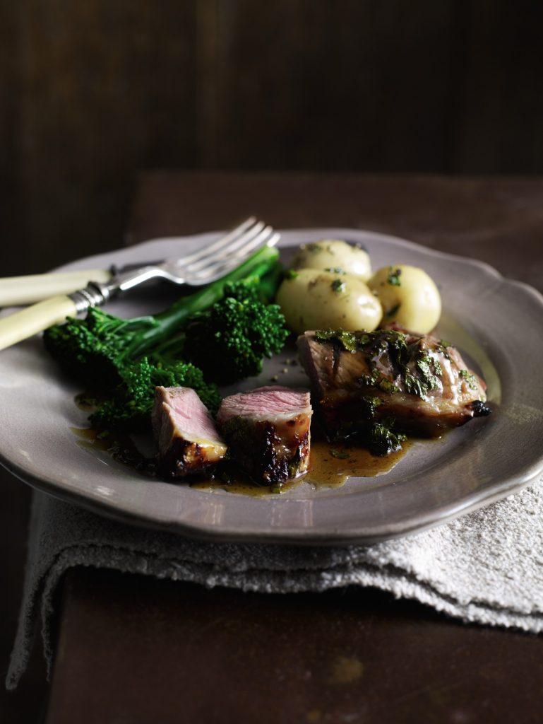 Minted Lamb Steaks