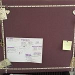 In the Home DIY: Make your own fabric pinboard.