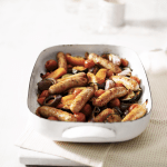 Recipe: Easy oven-roasted sausage ratatouille