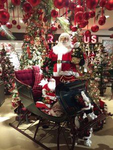 Macy's Christmas display