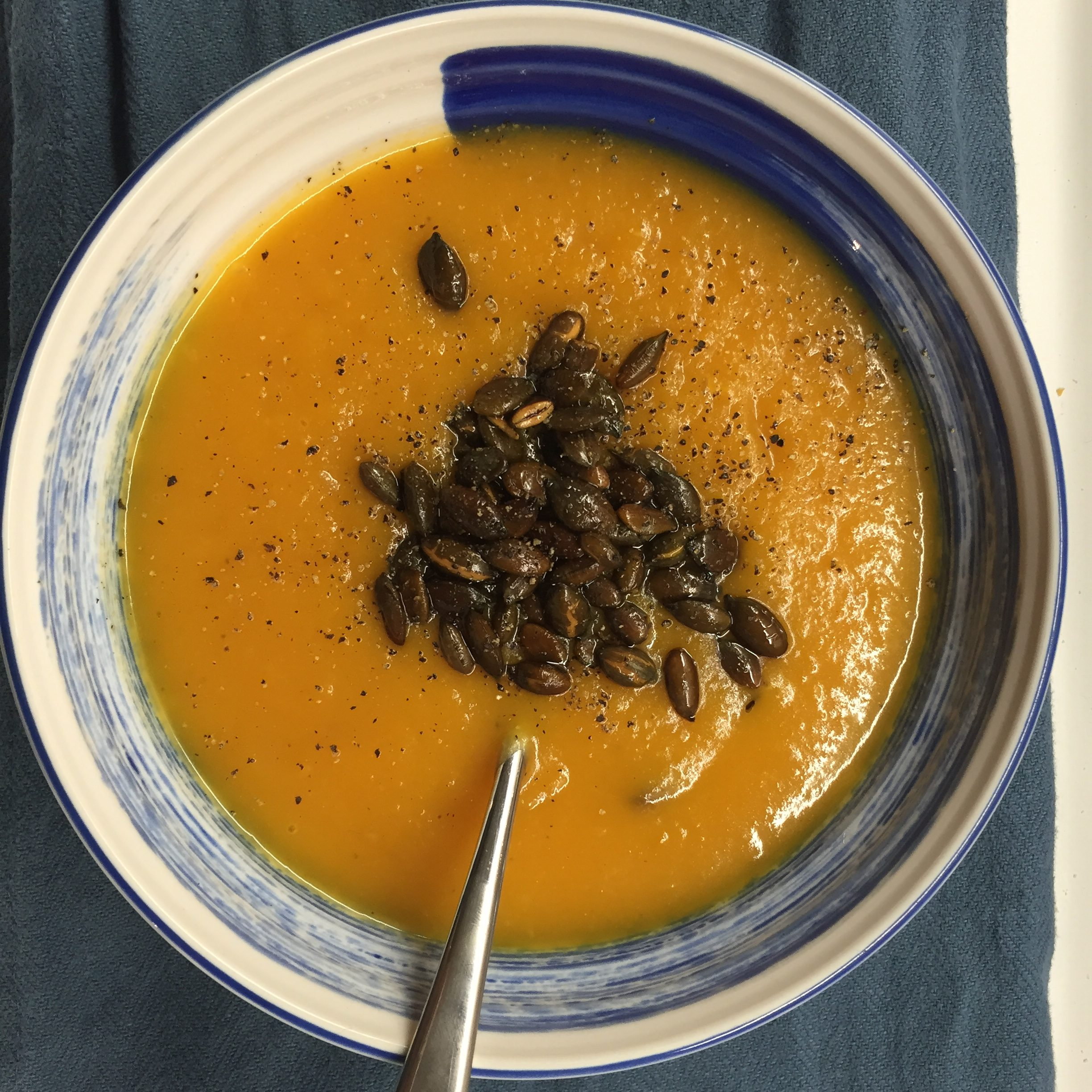 Recipe: Spicy Butternut Squash Soup