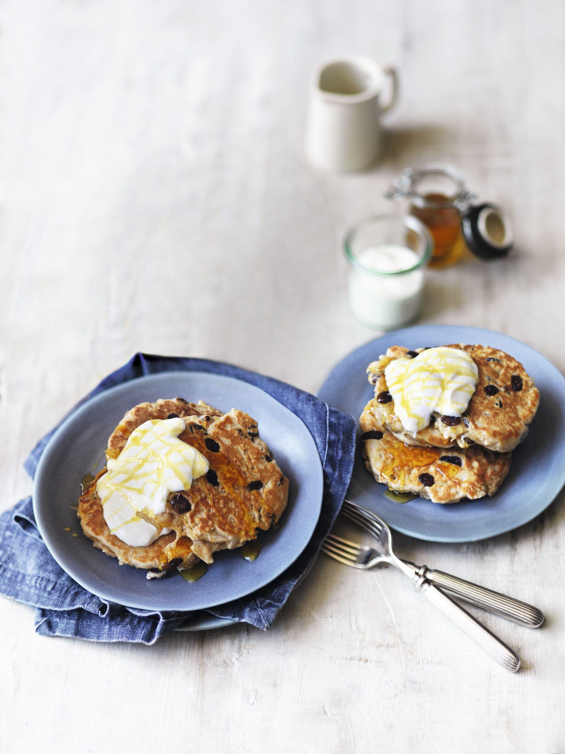 Recipe: Apple & cinnamon pancakes