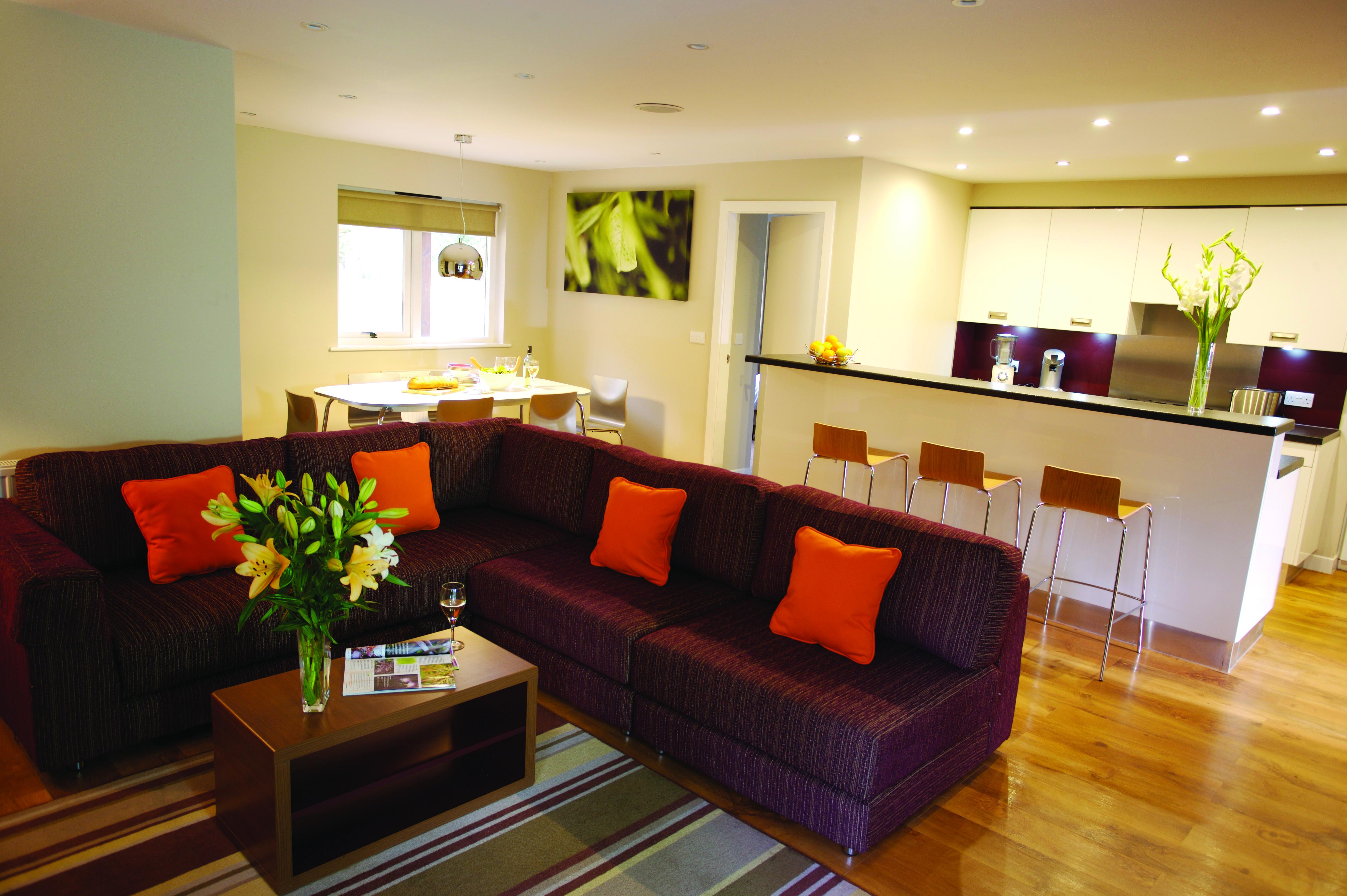 Executive Lodge living room