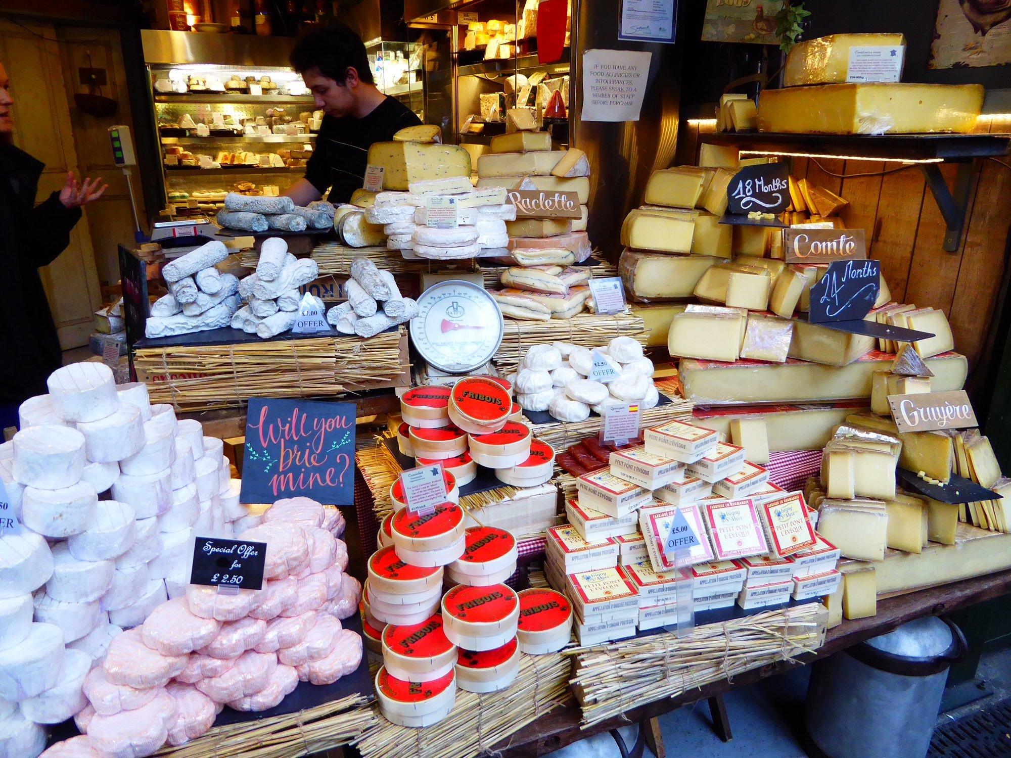 Food stalls, London