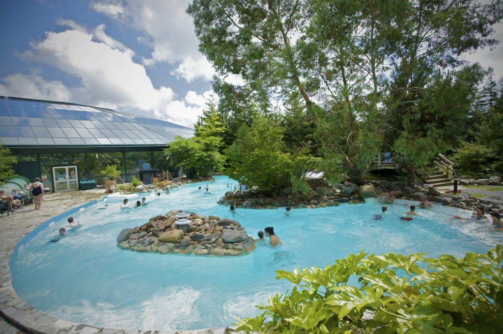 Outdoor pool Centre Parcs