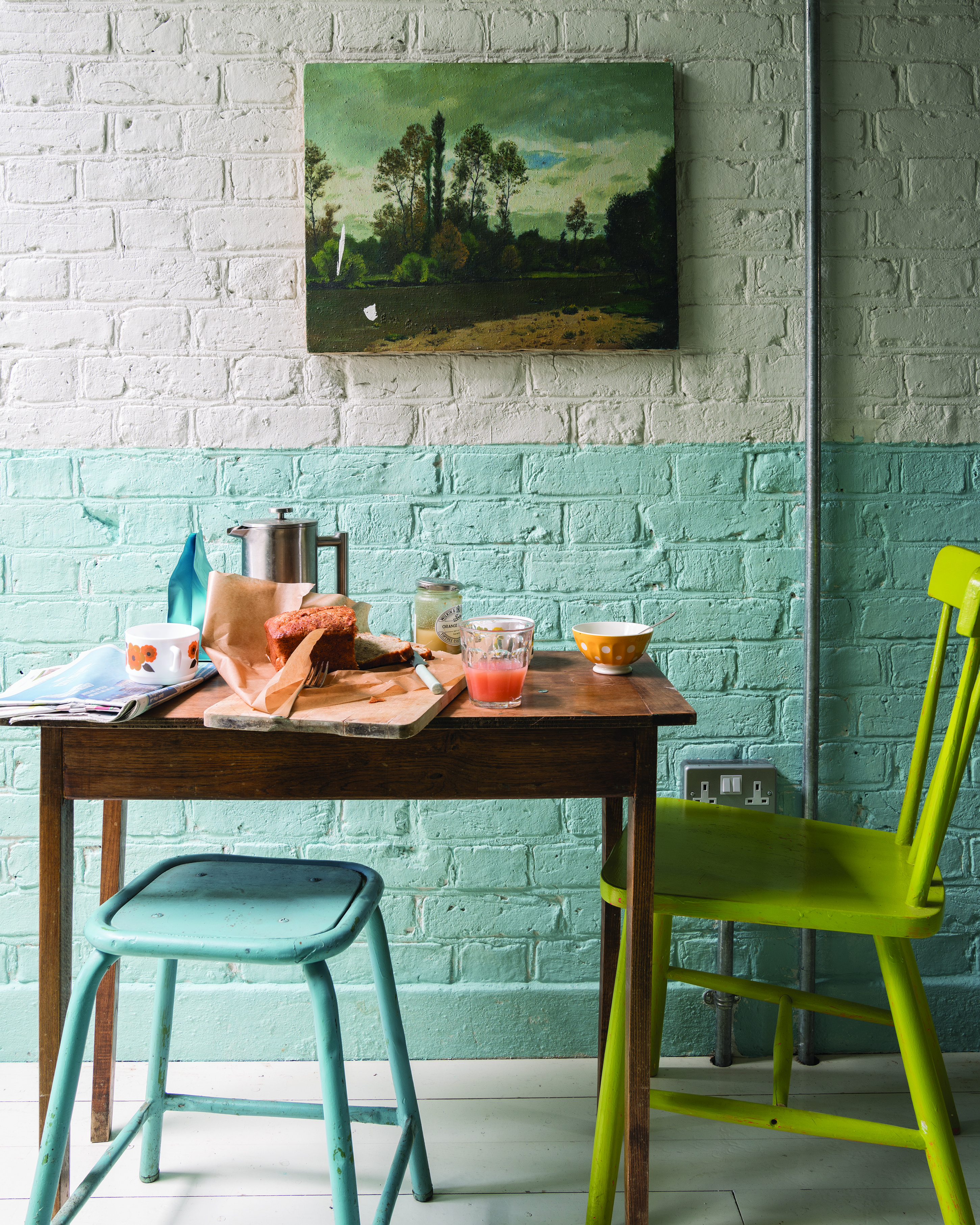 Change the Perception of a Rooms Size with Paint