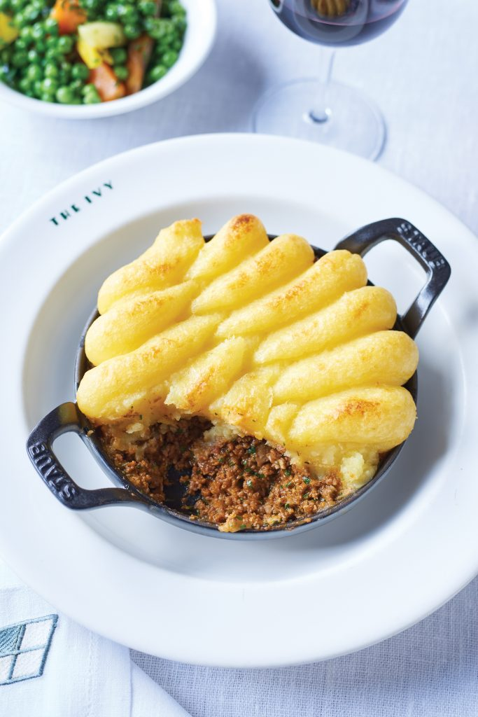 The Ivy's Shepherd's pie - picture credit to David Munns