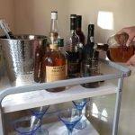 How To Create a Bar Cart on a Budget