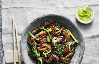Firey Beef and Broccoli stir fry