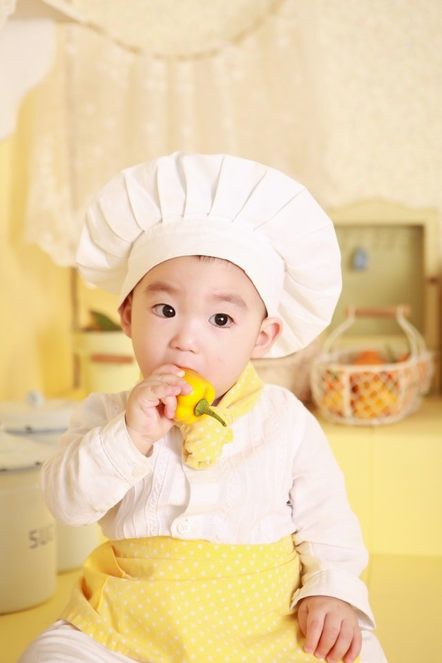Toddler cooking