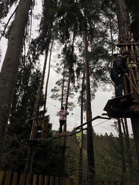 Aerial climbing