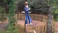 Chris climbing