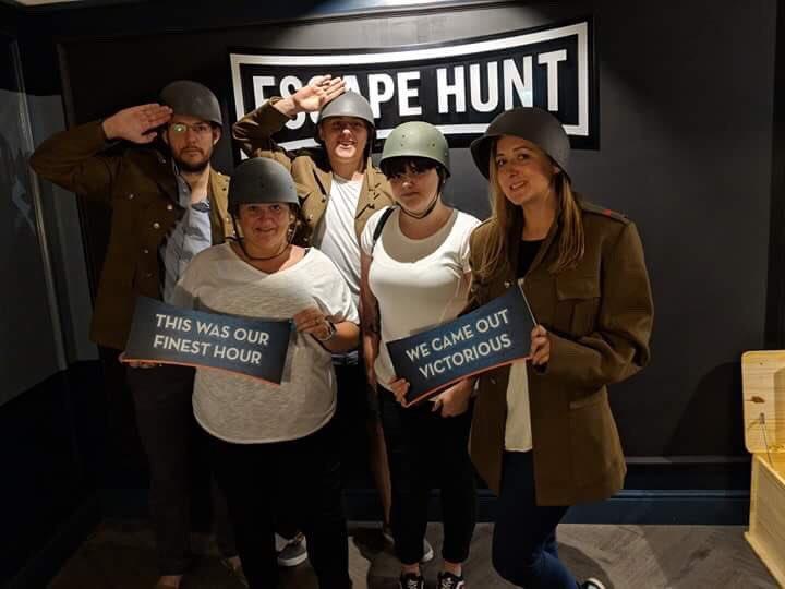 Review: Finest Hour, Escape Hunt, Bristol