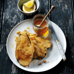 Recipe: Aubergine Fritters with Honey
