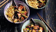 Aubergine stir-fry recipe