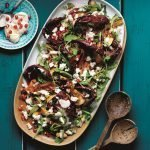 Recipe: Roast Aubergine & Chickpea Salad