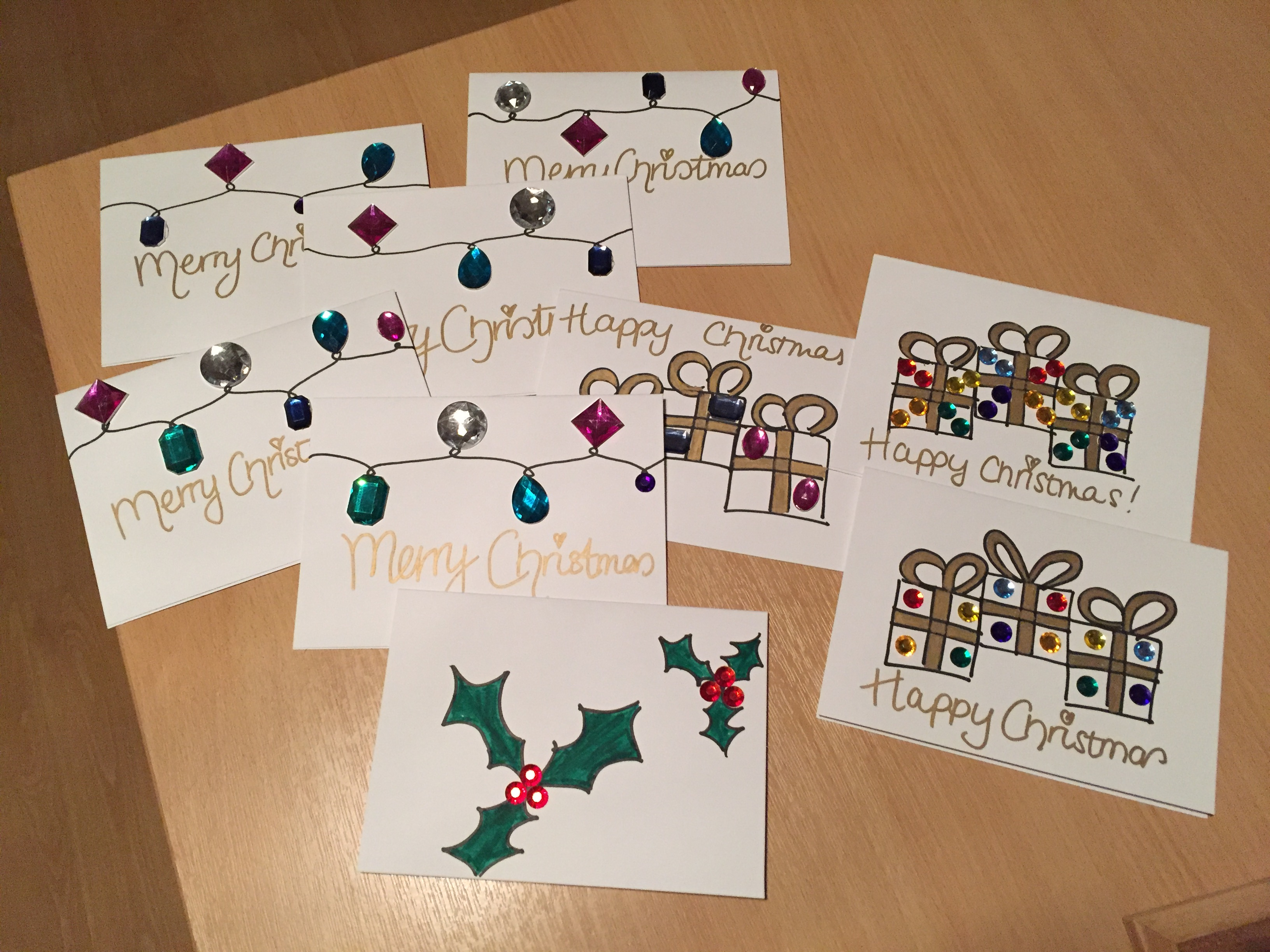 Make Your Own Christmas Cards Anything Goes Lifestyle Anything