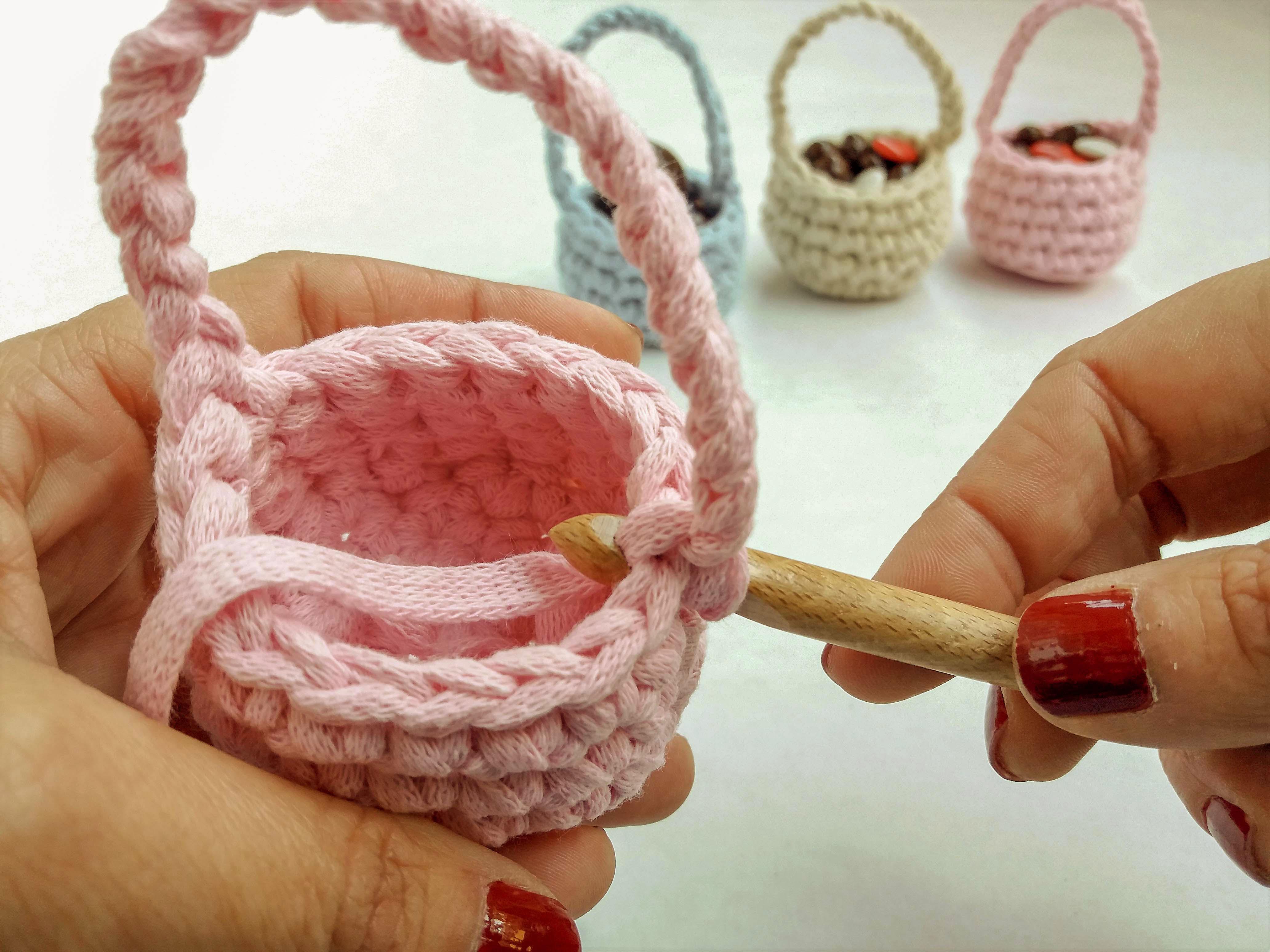 Easter baskets step 6