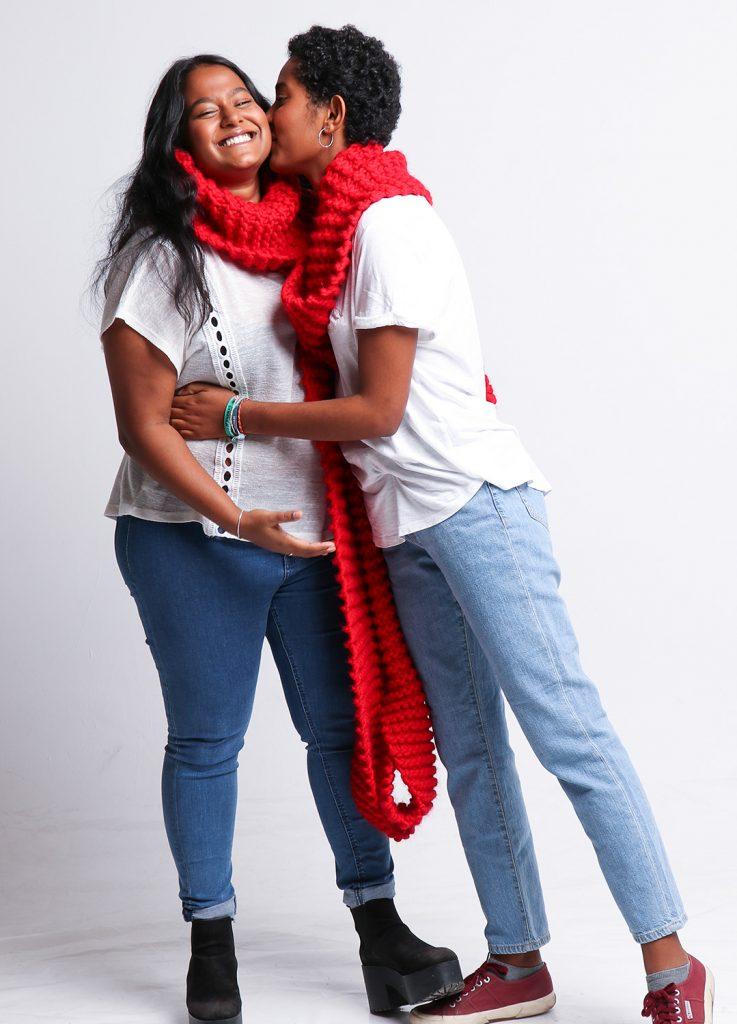 we found love scarf