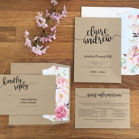 Wedding Planning: Designing your wedding stationery