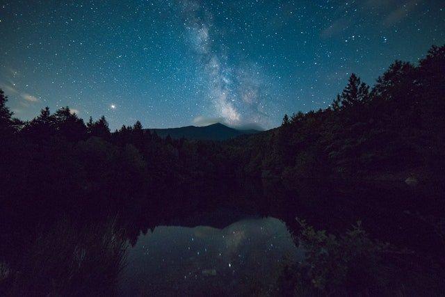 Lake district moonscape