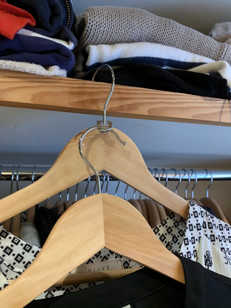 How to make the most of your wardrobe space