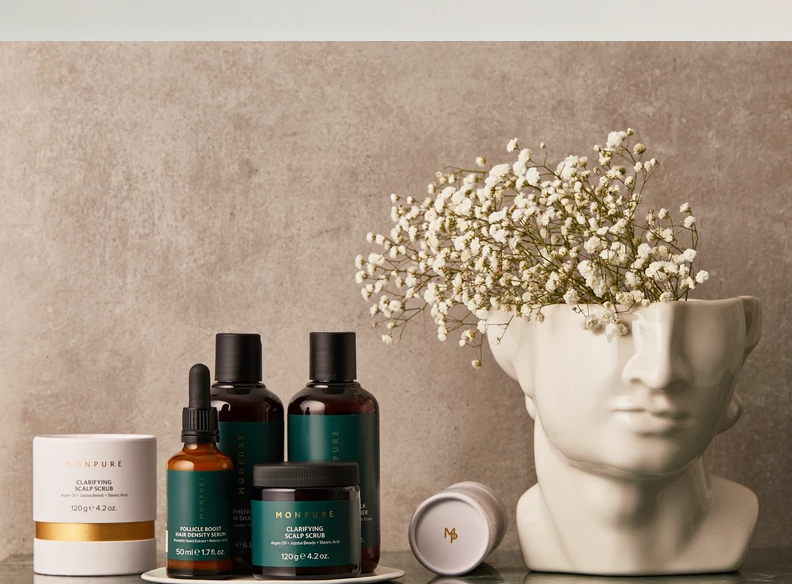 Monpure hair care collection