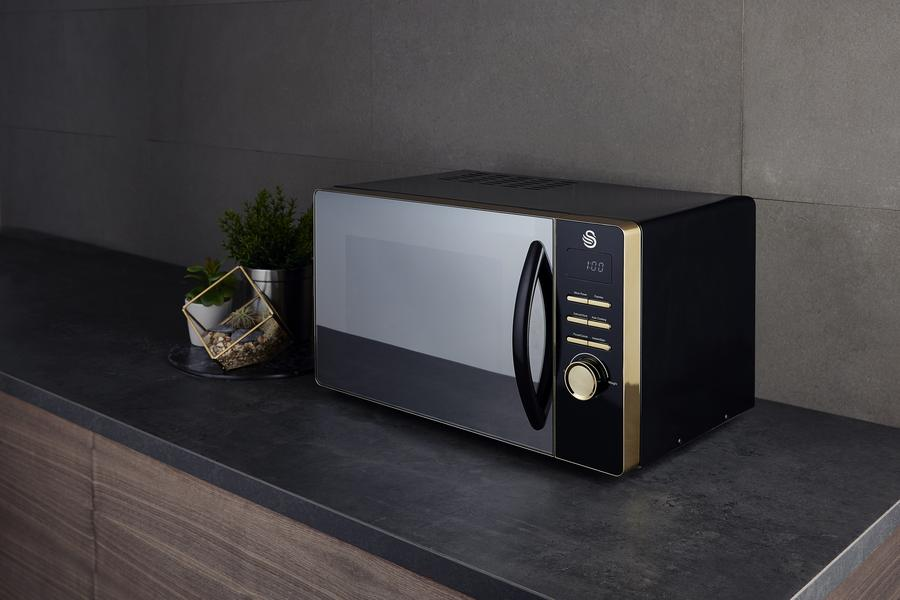 Swan Gatsby Collection Microwave