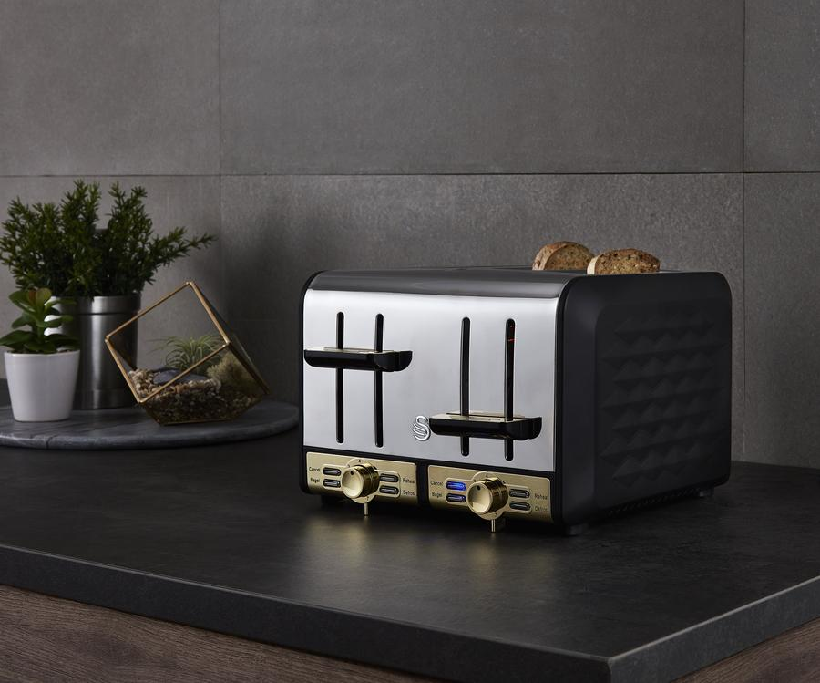 Swan Gatsby Collection Toaster