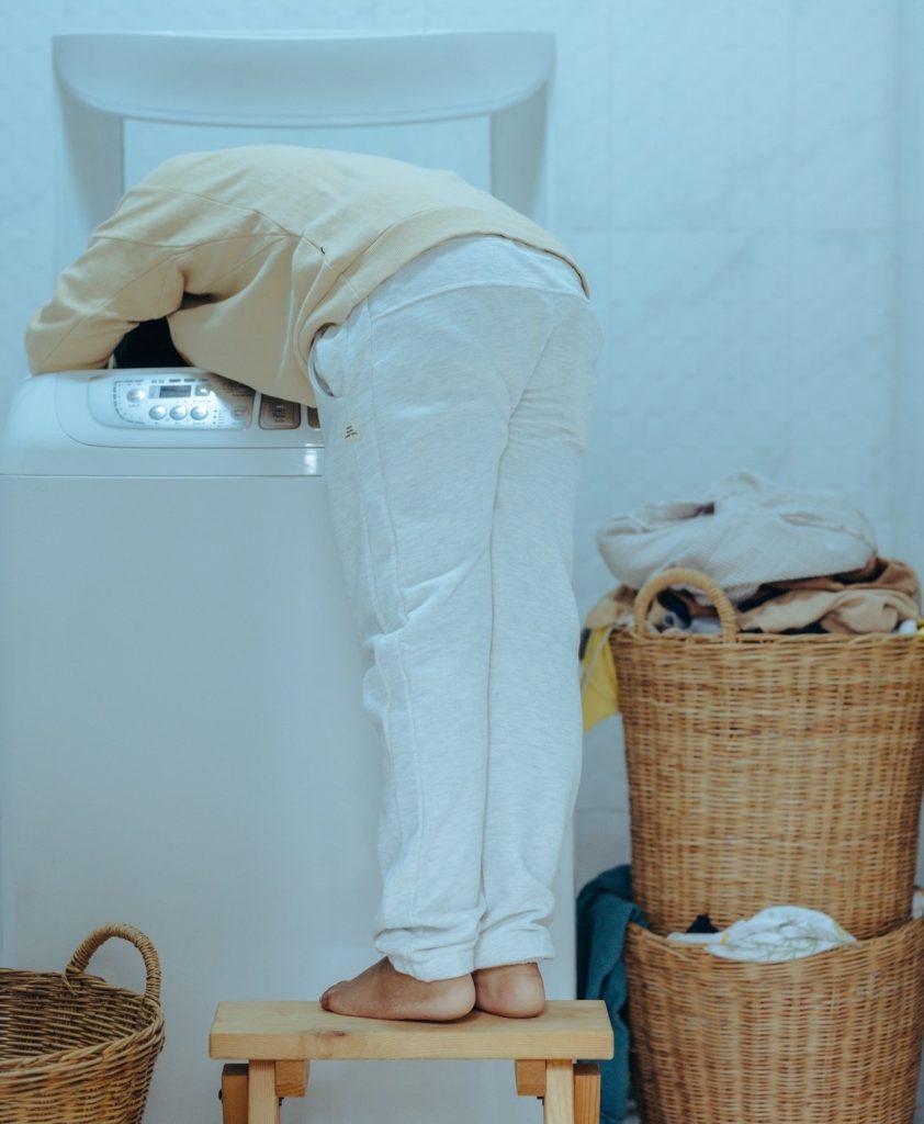 Washing powder workout